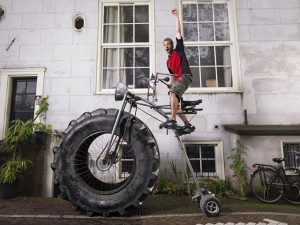 Sunkiausias dviratis