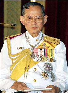 Tailando karalius