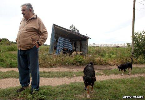 Urugvajus zemelapis