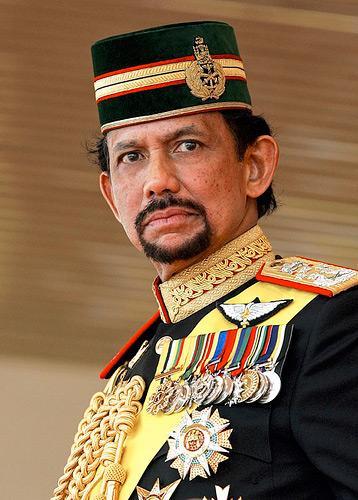 Brunejaus sultonas
