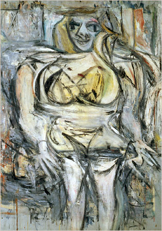 Woman III, trecioji moteris, trecia, paveikslas