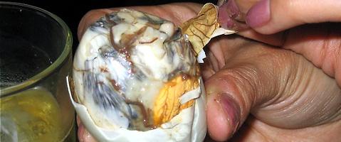 balut patiekalas maistas slykstu netradicinis