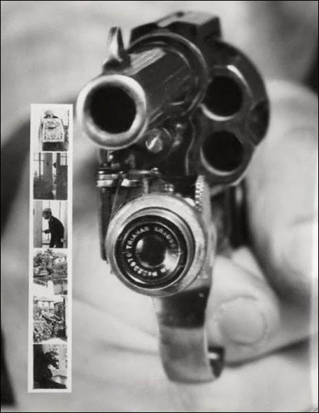 Revolveris su fotoaparatu (1938)