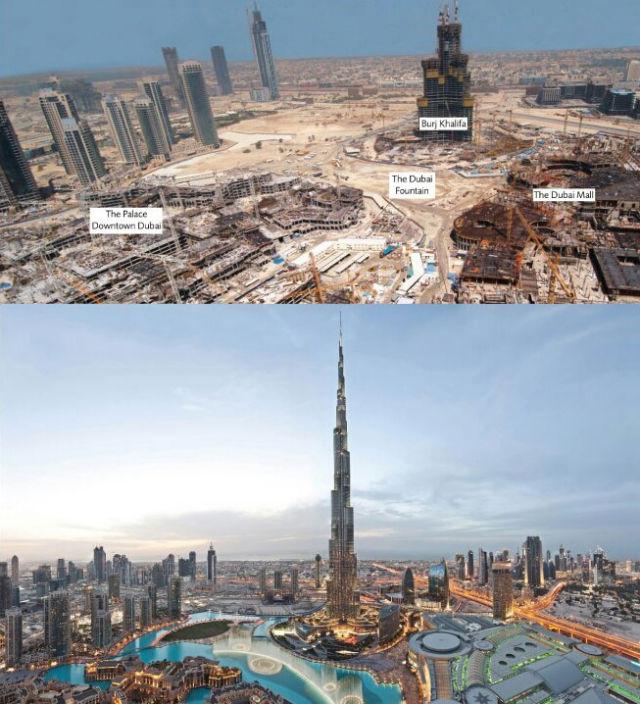 Dubajus 1991 m. ir dabar