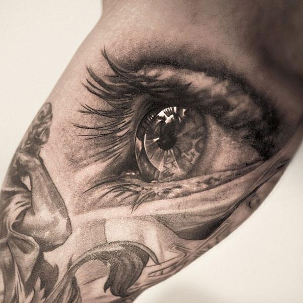 Tatuiruotė - akis