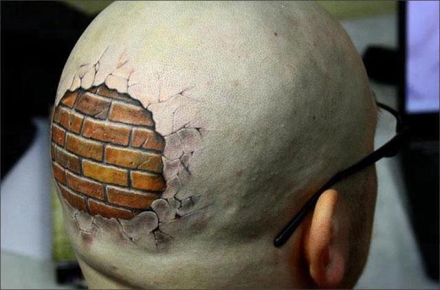 Tatuiruotė ant galvos