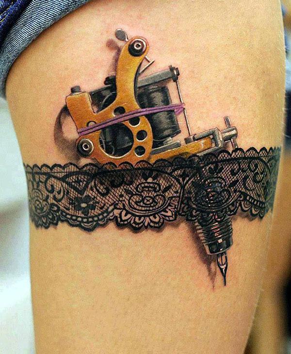 Tatuiruotė ant kojos
