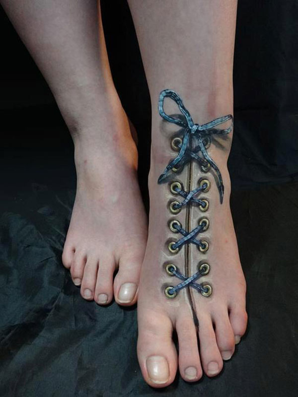 Tatuiruotė - batraištis