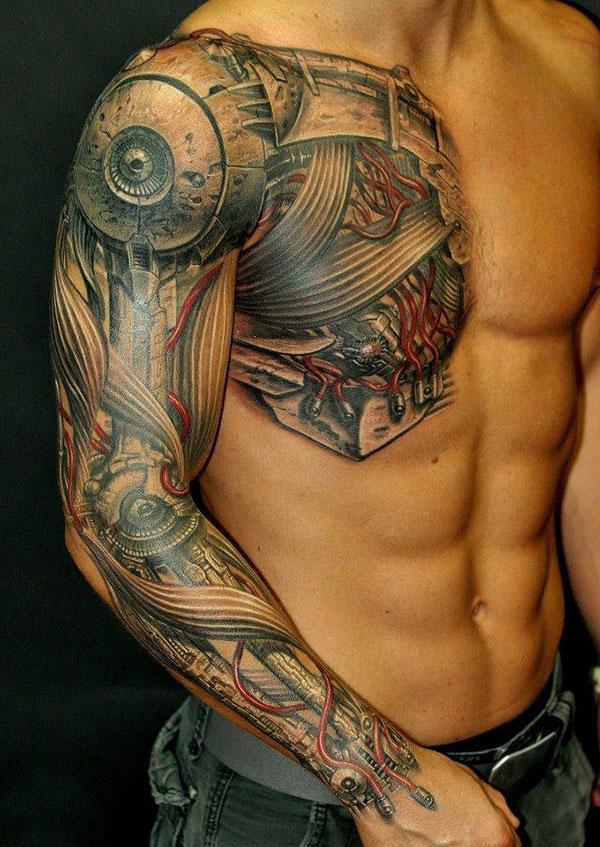 Tatuiruotė - kyborgas