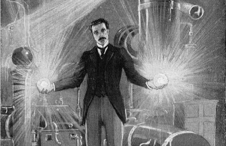 Nikola Tesla žaibai