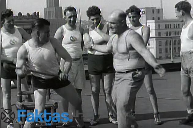 """Franko Richardsono pilvo presas atlaikydavo šimtus smųgių iš kūjų ir kitų sunkių daiktų / Frank """"Cannonball"""" Richards"""